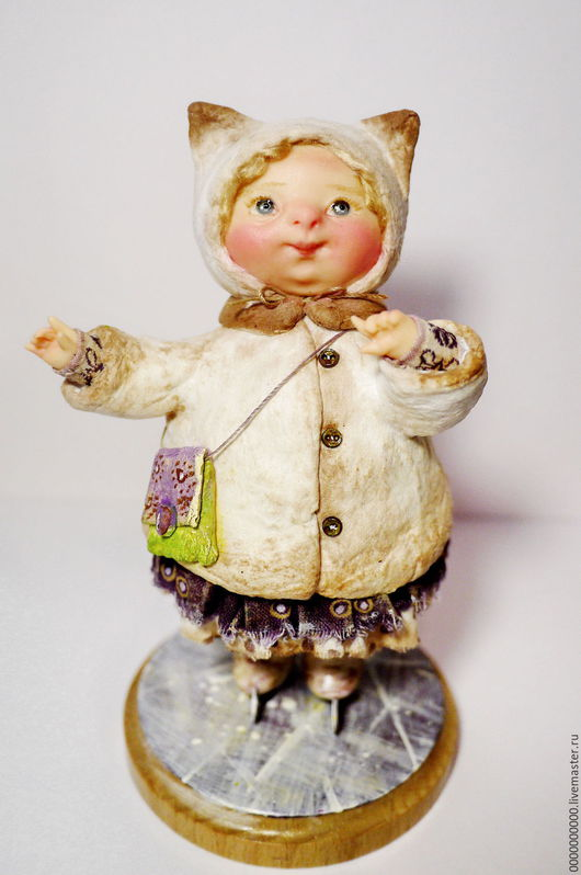 Коллекционные куклы ручной работы. Ярмарка Мастеров - ручная работа. Купить авторская кукла Олюшка. Handmade. Куклы авторских работ