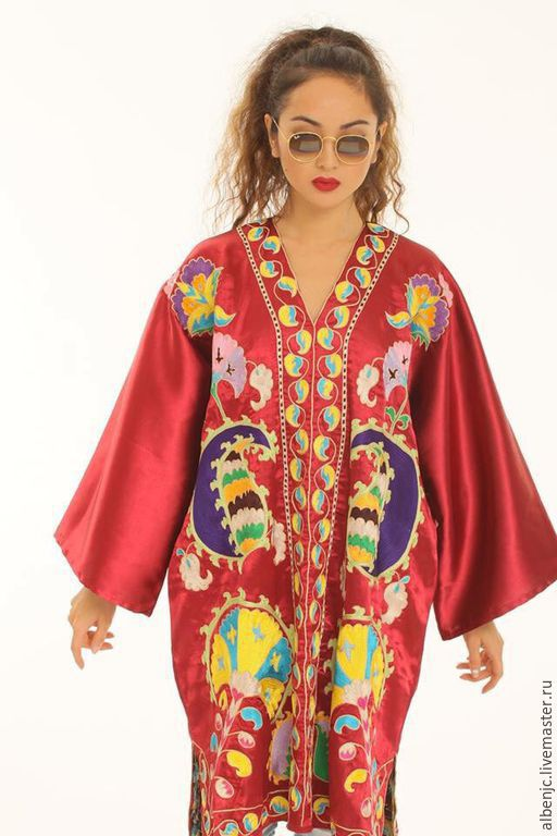 """Платья ручной работы. Ярмарка Мастеров - ручная работа. Купить платье """"Пери"""". Handmade. Бордовый, платье, платье с вышивкой, вышивка"""