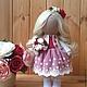 Коллекционные куклы ручной работы. Ярмарка Мастеров - ручная работа. Купить Кукла текстильная ручной работы Rosalin.. Handmade.
