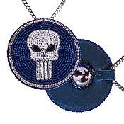 Украшения handmade. Livemaster - original item Skull Medallion