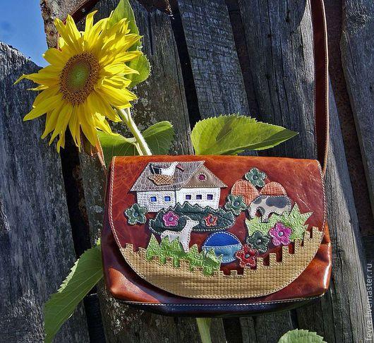 Яркая позитивная сумка сочень хорошим настроением.