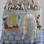 Для дома и интерьера ручной работы. Ярмарка Мастеров - ручная работа Грелка на чайник Крепость.. Handmade.