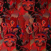Картины и панно ручной работы. Ярмарка Мастеров - ручная работа Картины. Африка. Маски (графика). Handmade.