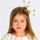 Детская бижутерия ручной работы. Ярмарка Мастеров - ручная работа. Купить Корона для принцессы из проволоки Принцесска-мини. Handmade. Золотой