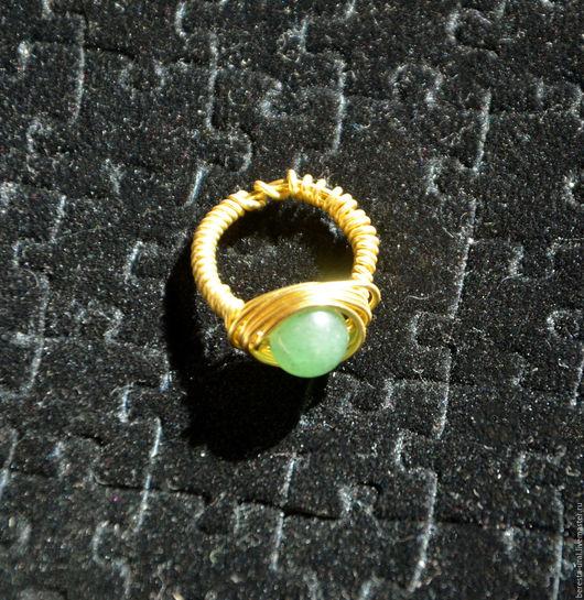 Кольца ручной работы. Ярмарка Мастеров - ручная работа. Купить Эксклюзивное кольцо ручной работы с натуральным поделочным камнем. Handmade.