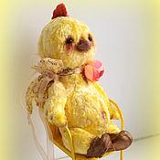 Куклы и игрушки ручной работы. Ярмарка Мастеров - ручная работа Цыпленок Тедди Солнышко. Handmade.