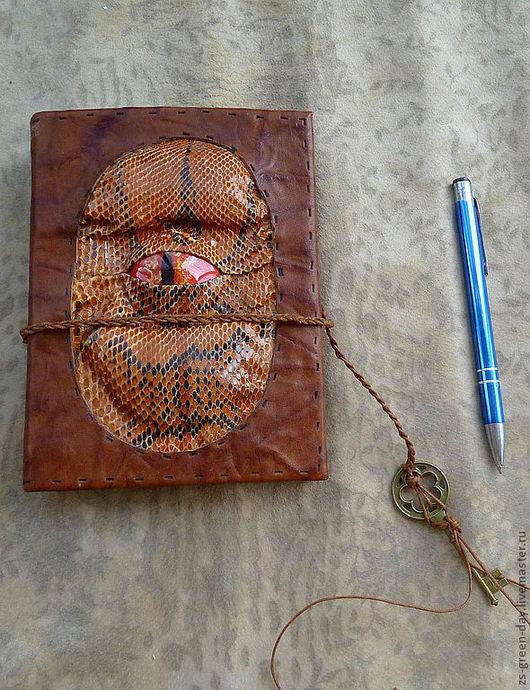 Блокноты ручной работы. Ярмарка Мастеров - ручная работа. Купить драконы южной пустыни. Handmade. Рыжий