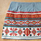 """Одежда ручной работы. Ярмарка Мастеров - ручная работа юбка """"Южная Америка"""". Handmade."""