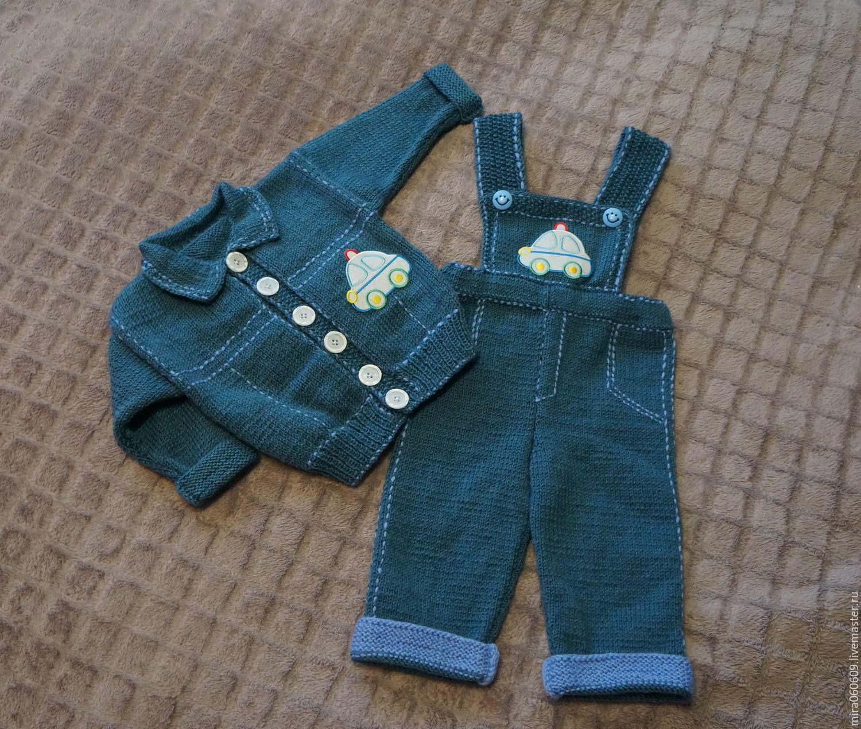 Вязание на спицах джинсы 168