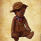 Куклы и игрушки ручной работы. Ярмарка Мастеров - ручная работа Мишка Неуловимый ковбой Джо. Handmade.