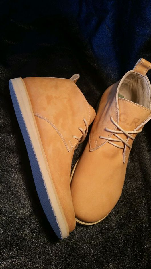 Обувь ручной работы. Ярмарка Мастеров - ручная работа. Купить Дезерты женские. Handmade. Дезерты, сплошная подошва