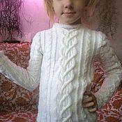 """Работы для детей, ручной работы. Ярмарка Мастеров - ручная работа детский свитер """"МОДНИЦА"""". Handmade."""