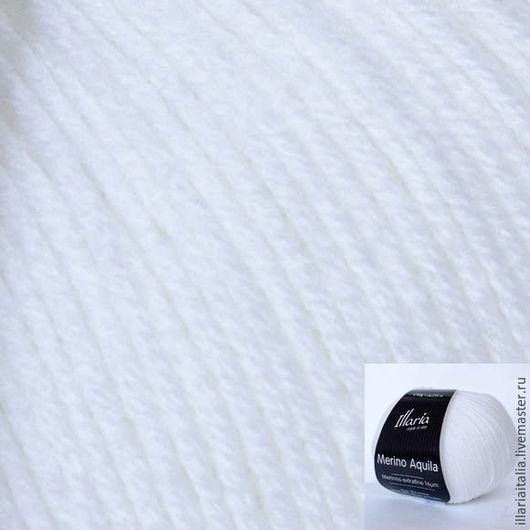 Артикул: 43701 MERINO AQUILA,  белый (кипельно-белый)
