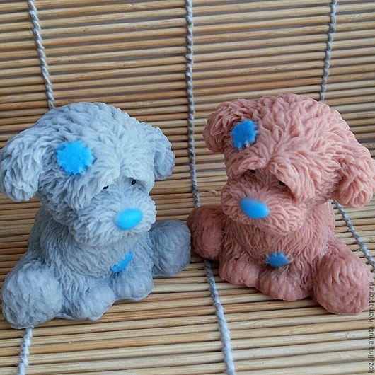 Мыло ручной работы. Ярмарка Мастеров - ручная работа. Купить Мыло щенок  друг Тедди. Handmade. Разноцветный, щенок тедди