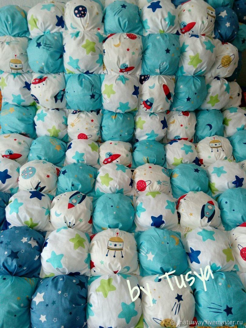 Одеяла, коврики бомбон, Одеяло для детей, Снежинск,  Фото №1