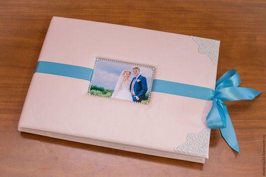 Свадебные фотоальбомы ручной работы. Ярмарка Мастеров - ручная работа. Купить Свадебный фотоальбом. Handmade. Комбинированный, свадебный альбом, калька