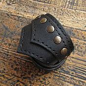 Украшения ручной работы. Ярмарка Мастеров - ручная работа Кожаный браслет Латы. Handmade.