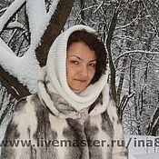 Аксессуары handmade. Livemaster - original item Knitted Snood, scarf, plain pipe!. Handmade.