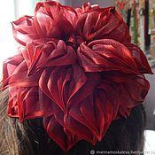 handmade. Livemaster - original item elastic hair band: The bow is great for girls. Handmade.
