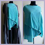 Одежда handmade. Livemaster - original item Boho set tunic and Cape. Handmade.