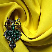 Материалы для творчества ручной работы. Ярмарка Мастеров - ручная работа Габардин жёлтый. Handmade.