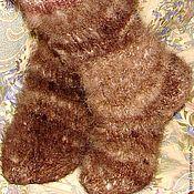 Аксессуары handmade. Livemaster - original item Socks-socks from the wool of Caucasian .. Handmade.