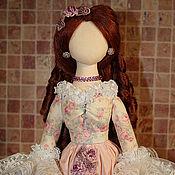 Куклы и игрушки ручной работы. Ярмарка Мастеров - ручная работа Дама в розовом. Handmade.
