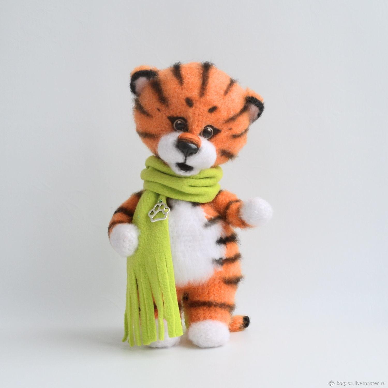 Тигрёнок Персик, Мягкие игрушки, Златоуст,  Фото №1