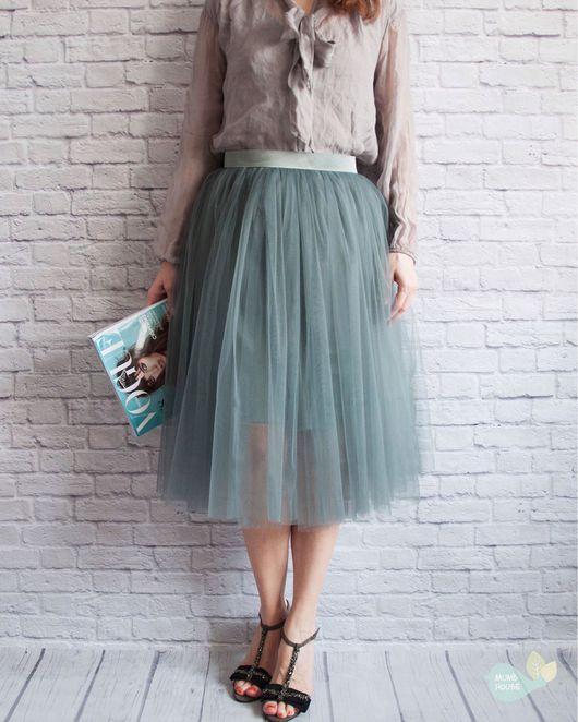 Юбки ручной работы. Ярмарка Мастеров - ручная работа. Купить Фатиновая юбка шопенка. Handmade. Фатиновая юбка, шопенка