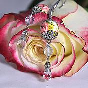 Украшения handmade. Livemaster - original item Earrings bead Tensha