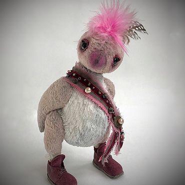 Куклы и игрушки ручной работы. Ярмарка Мастеров - ручная работа Птенчик тедди гусар. Handmade.