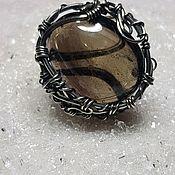Украшения handmade. Livemaster - original item Ring with rauchtopaz. Handmade.