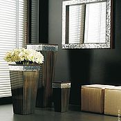 Для дома и интерьера handmade. Livemaster - original item mirror in mosaic frame, rectangular. Handmade.
