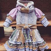 Работы для детей, ручной работы. Ярмарка Мастеров - ручная работа Лоскутное пальто для малышек. Handmade.