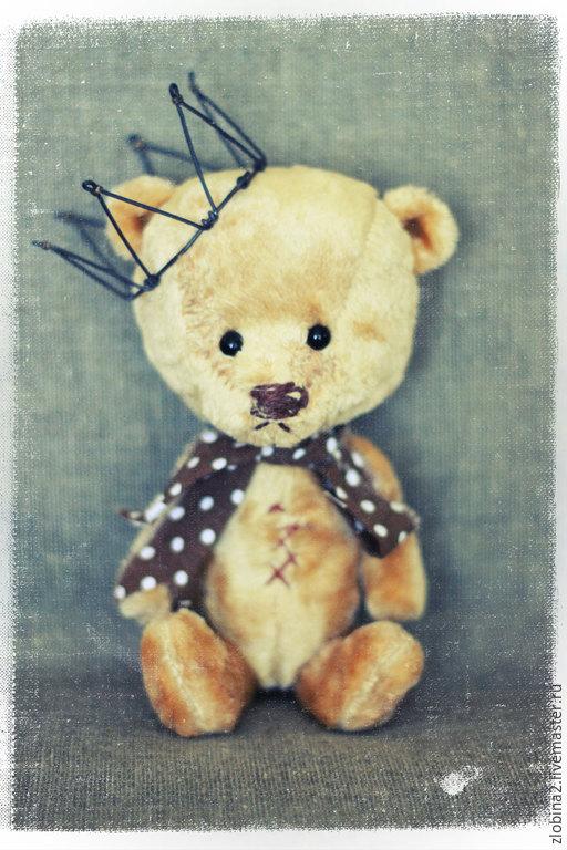 Мишки Тедди ручной работы. Ярмарка Мастеров - ручная работа. Купить принц поживший. Handmade. Золотой, мишки тедди