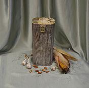 """Подарки к праздникам ручной работы. Ярмарка Мастеров - ручная работа Короб для подарка """"Мелодия души """". Handmade."""
