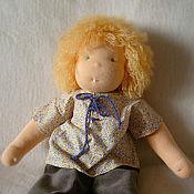 Куклы и игрушки ручной работы. Ярмарка Мастеров - ручная работа Вальдорфская кукла, 38 см. Handmade.
