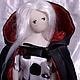 """кукла тряпиенс. """"...В черном плаще, с красным подбоем..."""". Куклы. Анна Клименко (klimana). Интернет-магазин Ярмарка Мастеров. Фото №2"""