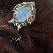 Украшения handmade. Livemaster - original item Hairpin with moonstone