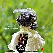 Figures handmade. Livemaster - original item Wedding motorcycle. Handmade.