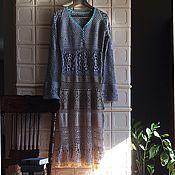 """Одежда ручной работы. Ярмарка Мастеров - ручная работа Вязаное платье """"Кёнигсберг"""". Handmade."""