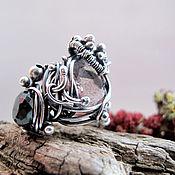 """Украшения ручной работы. Ярмарка Мастеров - ручная работа кольцо """"Berry trifle"""" silver. Handmade."""