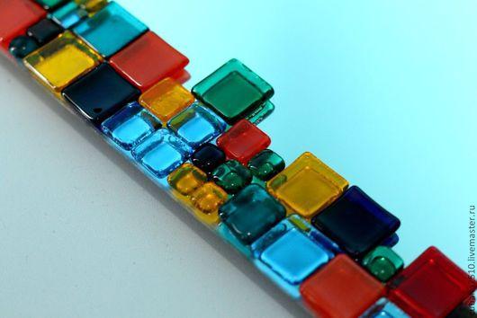 """Зеркала ручной работы. Ярмарка Мастеров - ручная работа. Купить Мозаичное зеркало """"По мотивам  Patchwork"""". Handmade. Зеркало"""