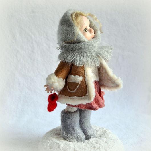 Коллекционные куклы ручной работы. Ярмарка Мастеров - ручная работа. Купить Варенька. Handmade. Белый, девочка, взгляд, подарок