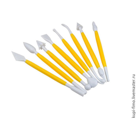 Для украшений ручной работы. Ярмарка Мастеров - ручная работа. Купить S-CHIEF набор кондитерских инструментов для моделирования 8 шт. Handmade.