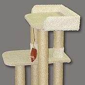 Для домашних животных, ручной работы. Ярмарка Мастеров - ручная работа когтеточка Соло  (подходит крупным кошкам). Handmade.
