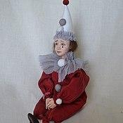 Куклы и игрушки ручной работы. Ярмарка Мастеров - ручная работа Маленький Пьеро (продан). Handmade.