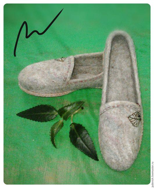 """Обувь ручной работы. Ярмарка Мастеров - ручная работа. Купить Эспадрильи женские""""Скоро осень"""". Handmade. Бежевый, обувь, ботинки женские"""