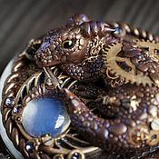 """Сувениры и подарки ручной работы. Ярмарка Мастеров - ручная работа зеркало """"Хранитель Дракон"""". Handmade."""