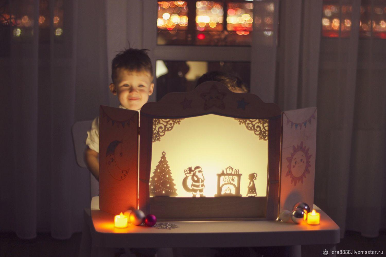 Театр теней Новогодний набор персонажей, Кукольный театр, Красноярск,  Фото №1